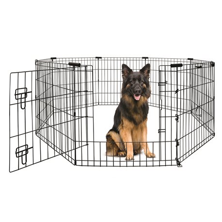 Yours Droolly Exercise Pen with Door 48in