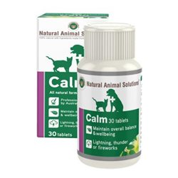 Natural Animal Solutions Calm For Dogs & Cats 30 Tablets