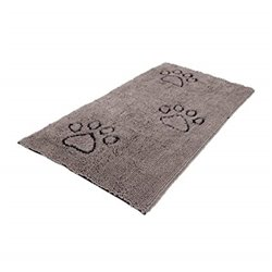 Dirty Dog Runner Large Grey 76 x 152cm