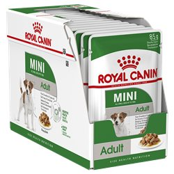 Royal Canin Mini Adult Gravy Pouches 85g x 12
