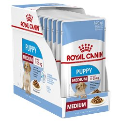 Royal Canin Medium Puppy 140g x 10