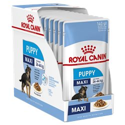 Royal Canin Maxi Puppy Gravy 140g x 10