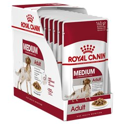 Royal Canin Medium Adult Gravy x 10