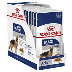 Royal Canin Maxi Adult Gravy 140g x 10