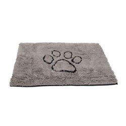 Dirty Dog Doormat Grey Medium 79 x 51cm