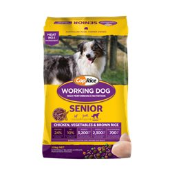 Coprice Working Dog Senior with Chicken, Vegetables & Brown Rice