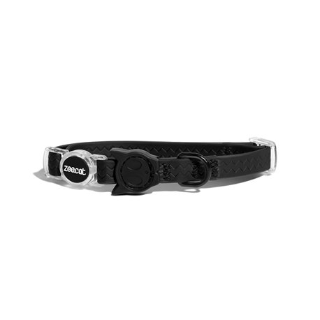 Zee.Cat NeoPro Black Cat Collar