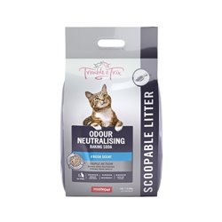 Trouble and Trix Clumping Litter Baking Soda 15L