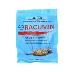 Bayer Racumin Rat and Mouse Paste 500g