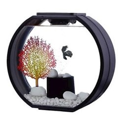 Blue Planet Aquarium Deco-O 20L Black