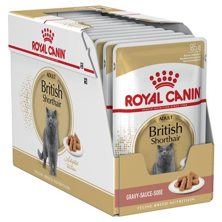 Royal Canin British Short Hair Wet Pouches