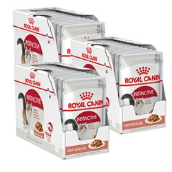 Royal Canin Cat Instinctive in Gravy x 36 Pouches