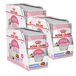 Royal Canin Kitten Instinctive in Jelly x 36 Pouches