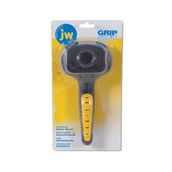 JW Grip Soft Self-Cleaning Slicker Brush