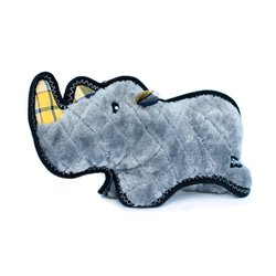 Zippy Paws Z-Stitch Grunterz - Ronny the Black Rhino