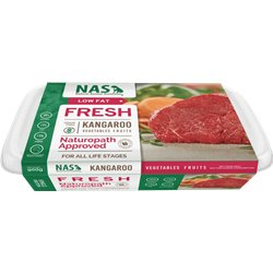 Natural Animal Solutions Raw Kangaroo for Dogs 900g (WAREHOUSE PICK UP ONLY)