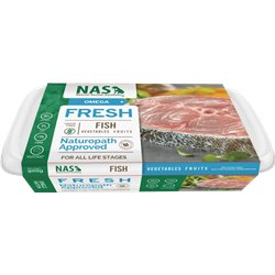 NAS Raw Fish for Dogs 900g
