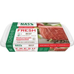 NAS Raw Beef for Dogs 900g