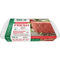 NAS Raw Beef for Cats 450g