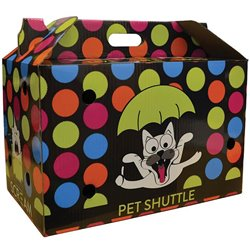 Scream Cardboard Pet Shuttle (44x25x28cm)
