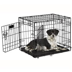 "Midwest Contour Dog Double Door Crate Small (24"")"