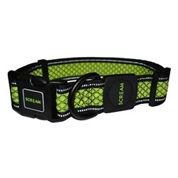Scream Reflective Collar (Loud Green)