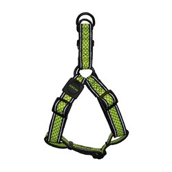 Scream Reflective Step In Harness (Loud Green)