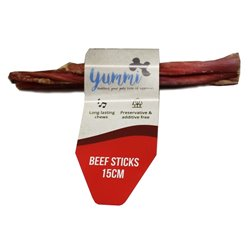 Yummi Beef Sticks (15cm) 10 pack