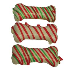 Huds & Toke - Christmas Frosted Doggy Bone 3pk