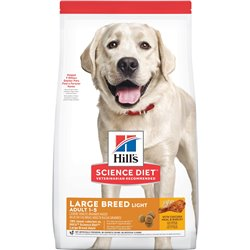 Science Diet Dog Adult Light Large Breed