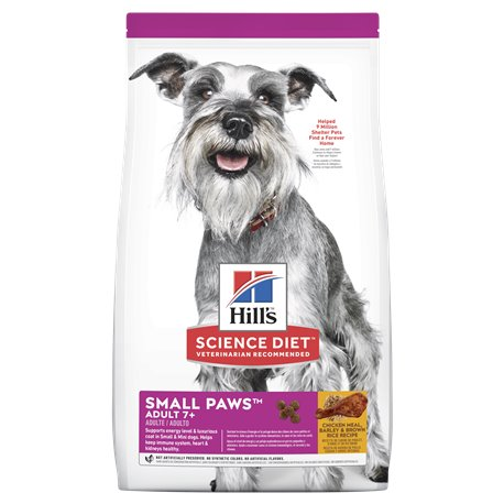 Science Diet Dog Mature Small Small Paws Dry Food