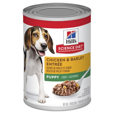 Science Diet Puppy Gourmet Chicken Entrée Cans