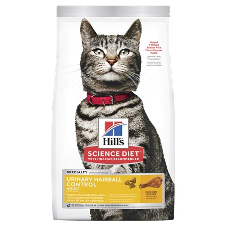 Science Diet Feline Urinary Hairball Control