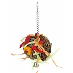Paradise Chew Years Eve Bird Toy