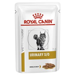 Royal Canin Feline Veterinary Diet Urinary S/O Wet Pouches 85g x 12