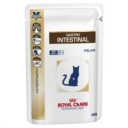 Royal Canin Feline Veterinary Diet Gastro Intestinal Wet Pouches 100g x 12
