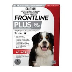 Frontline Plus Extra Large Dog