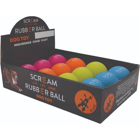 Scream Rubber Ball