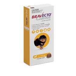 Bravecto Very Small Dog 2.5-4kg