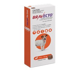 Bravecto Small Dog 4.5-10kg