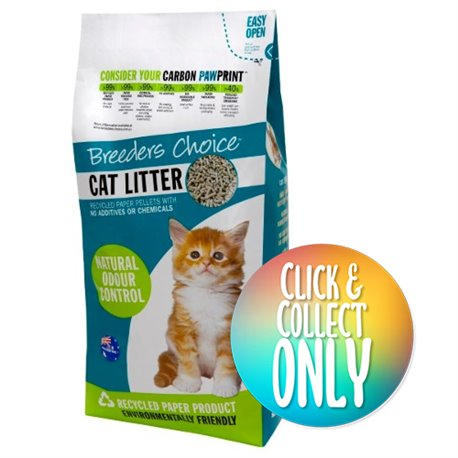 Breeders Choice Cat Litter 30L (Click & Collect Only)