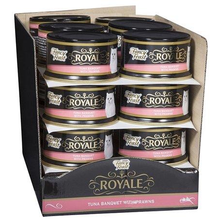 Fancy Feast Royale Tuna Banquet with Prawns
