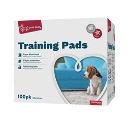 Yours Droolly Puppy Toilet Training Pads 100 Pack