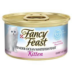 Fancy Feast Kitten Ocean Whitefish
