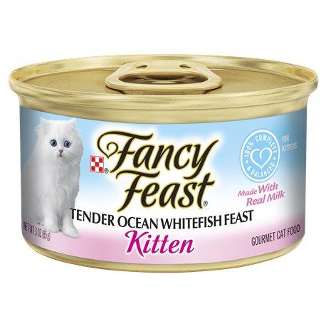 Fancy Feast Kitten Ocean Whitefish