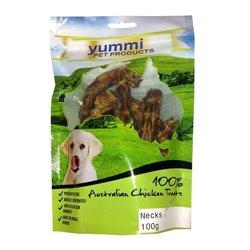 Yummi Chicken Necks 100g