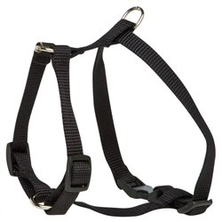Small Dog Harness Black (23-36cm)