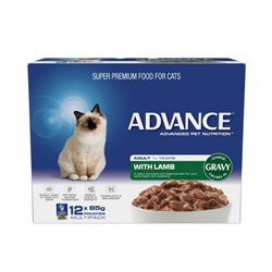 Advance Cat Lamb Gravy 12x85g