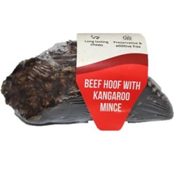Yummi Cow Hoof with Kangaroo Stuffing