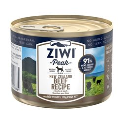 ZiwiPeak Beef Dog Food Can 170g